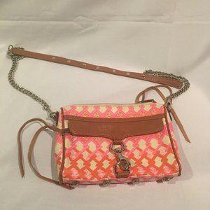 Rebecca Minkoff Mini M.A.C. Crossbody Handbag Pink